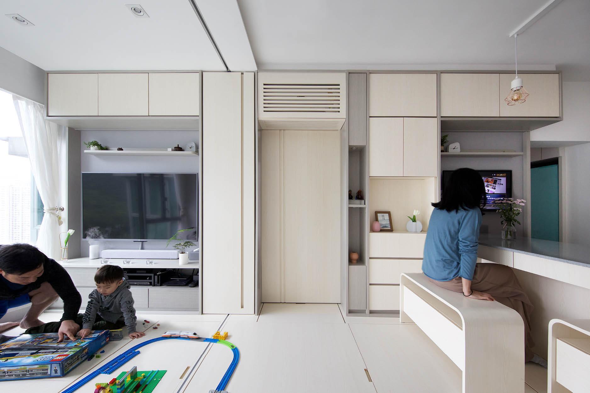 Căn hộ 45m² với mẹo bố trí hợp phong thủy giúp không gian thêm vượng khí, vợ chồng thêm thuận hòa  - Ảnh 11.