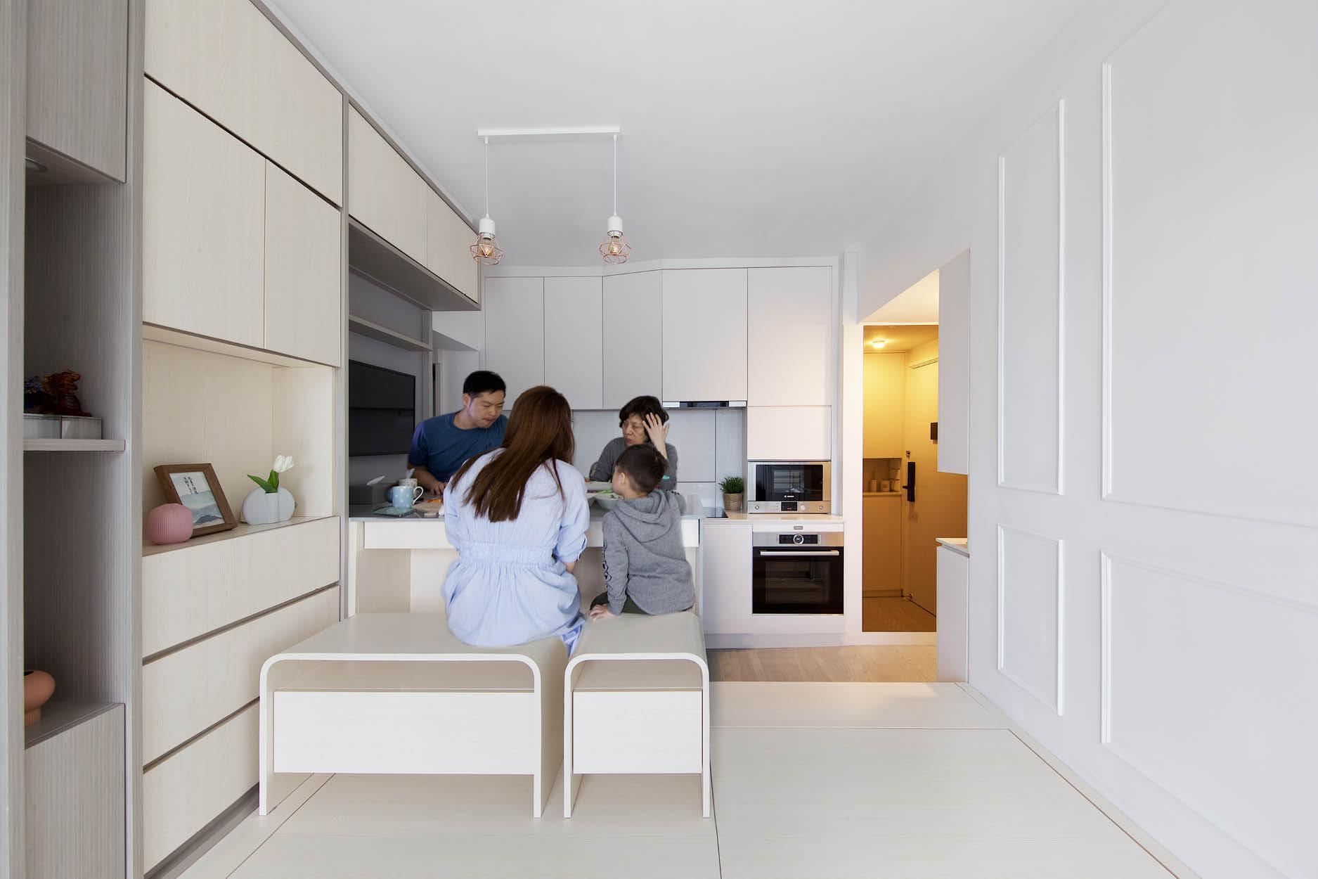 Căn hộ 45m² với mẹo bố trí hợp phong thủy giúp không gian thêm vượng khí, vợ chồng thêm thuận hòa  - Ảnh 10.