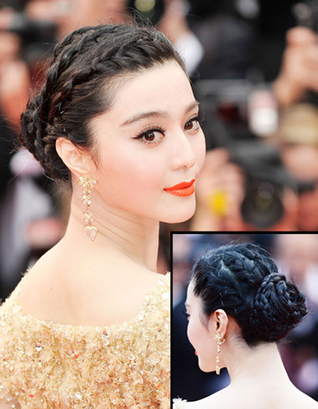 Để không phải hất tóc vào mặt người khác, Á hậu Linh Chi nên tham luôn và khảo ngay loạt style tóc đi dự sư kiện sang - xịn - mịn thế này - Ảnh 11.