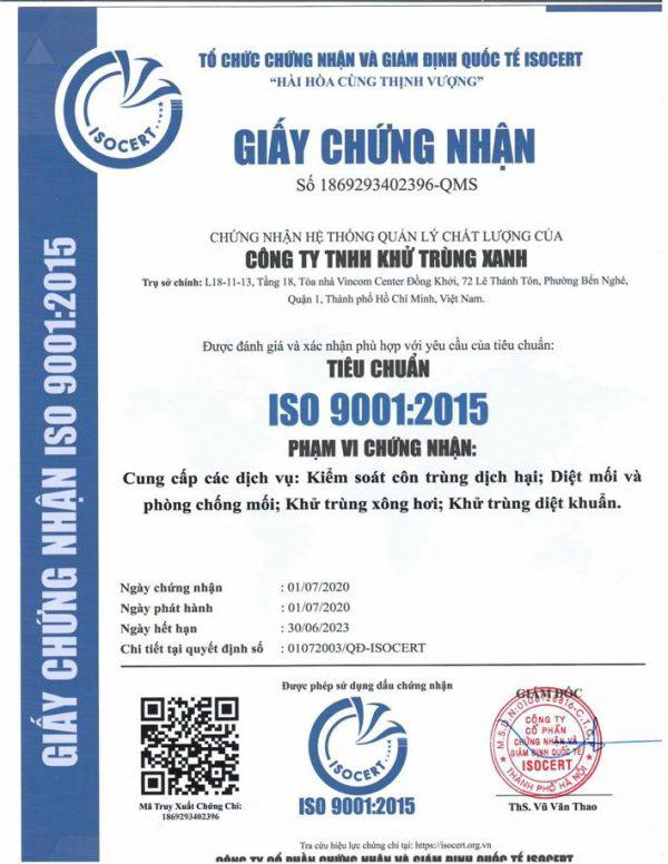 Khử trùng xanh - GFC - Tập đoàn cung cấp dịch vụ côn trùng tại nhà hàng đầu Việt Nam - Ảnh 2.