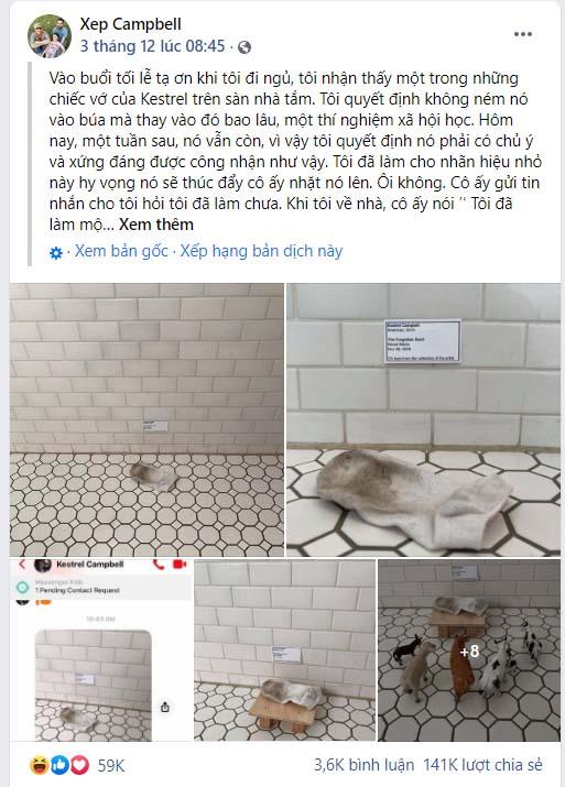 Con gái xả tất bẩn ra phòng tắm không chịu dọn, bà mẹ thông minh đã có cách phản ứng siêu thú vị - Ảnh 2.