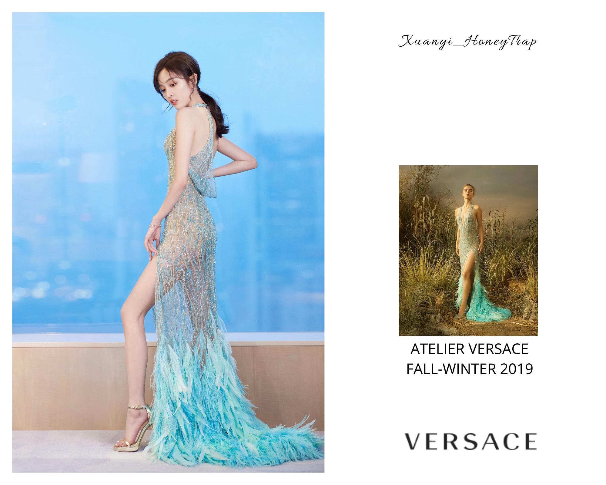 """Dương Mịch bị stylist và đàn em thông đồng """"vượt mặt"""", bảo sao phải diện váy vừa xấu vừa già - Ảnh 4."""