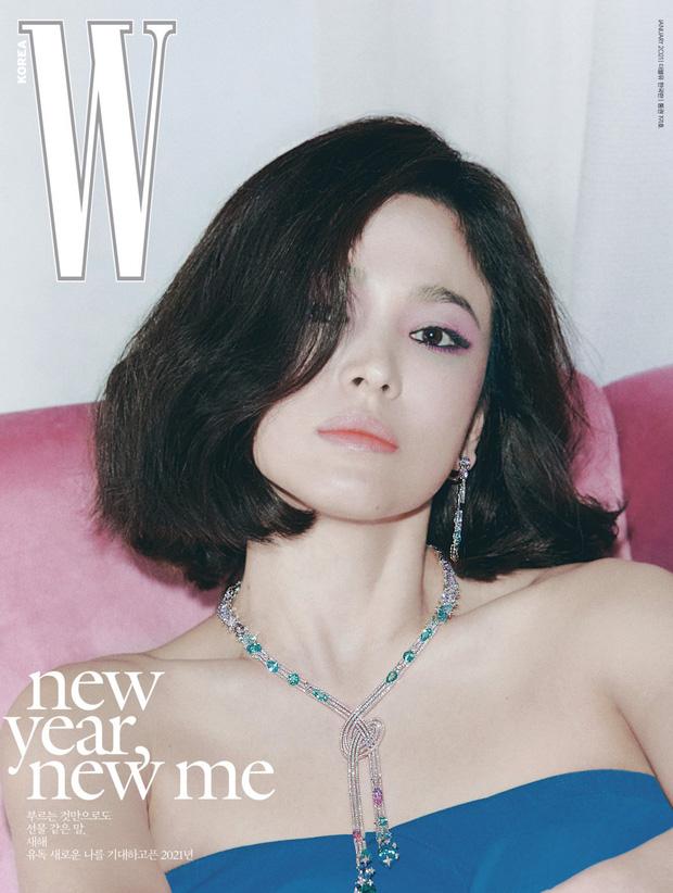 """Đụng hàng hiệu trên tạp chí: Song Hye Kyo sắc lạnh, Đường Yên gây tranh cãi với style """"bù xù"""" - Ảnh 1."""