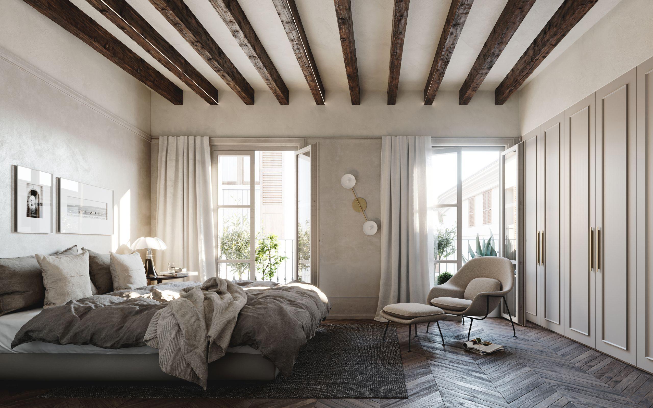 13 mẫu ghế cho phòng ngủ khiến bạn thậm chí còn yêu ghế hơn giường - Ảnh 3.