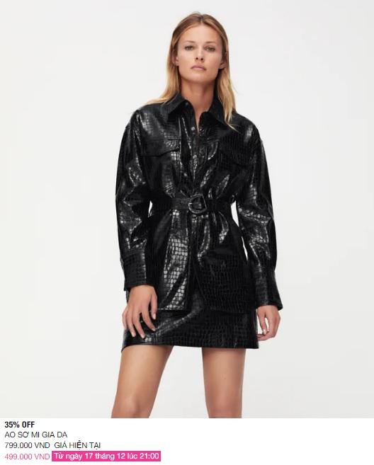 Zara Việt Nam sale mạnh, 10 mẫu áo khoác dưới 1 triệu là thứ chị em cần tăm tia ngay - Ảnh 9.