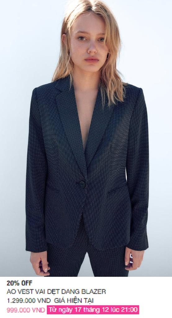 Zara Việt Nam sale mạnh, 10 mẫu áo khoác dưới 1 triệu là thứ chị em cần tăm tia ngay - Ảnh 8.