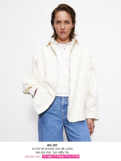 Zara Việt Nam sale mạnh, 10 mẫu áo khoác dưới 1 triệu là thứ chị em cần tăm tia ngay - Ảnh 10.