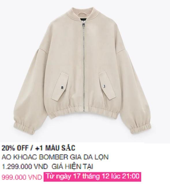 Zara Việt Nam sale mạnh, 10 mẫu áo khoác dưới 1 triệu là thứ chị em cần tăm tia ngay - Ảnh 4.