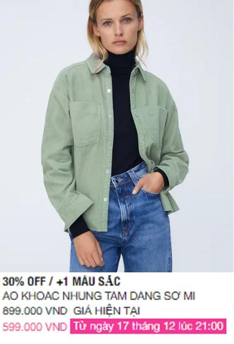 Zara Việt Nam sale mạnh, 10 mẫu áo khoác dưới 1 triệu là thứ chị em cần tăm tia ngay - Ảnh 5.