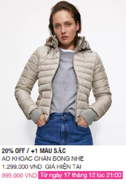 Zara Việt Nam sale mạnh, 10 mẫu áo khoác dưới 1 triệu là thứ chị em cần tăm tia ngay - Ảnh 7.