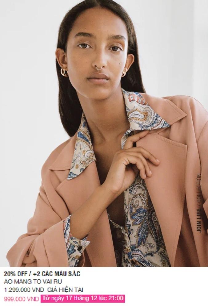 Zara Việt Nam sale mạnh, 10 mẫu áo khoác dưới 1 triệu là thứ chị em cần tăm tia ngay - Ảnh 3.