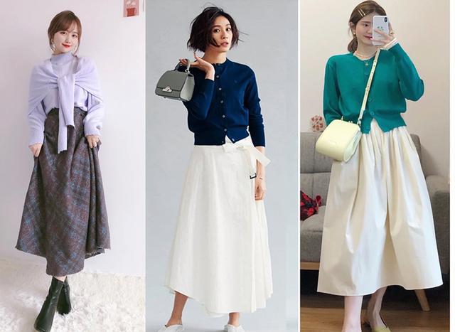 4 típ diện áo len và chân váy  - Ảnh 3.