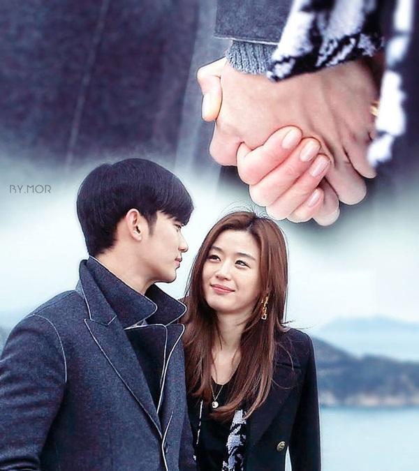 """Ngập tràn cảnh hôn của Kim Soo Hyun và """"mợ chảnh"""" Jun Ji Hyun trong phim """"Vì sao đưa anh tới"""" bất ngờ hot trở lại sau 7 năm phát sóng - Ảnh 7."""