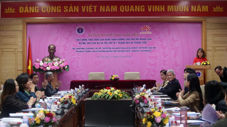 """Thứ trưởng Nguyễn Trường Sơn: """"Thiếu hụt dinh dưỡng trong quá trình mang thai có thể làm tăng nguy cơ bị tai biến sản khoa, sinh non"""" - Ảnh 1."""