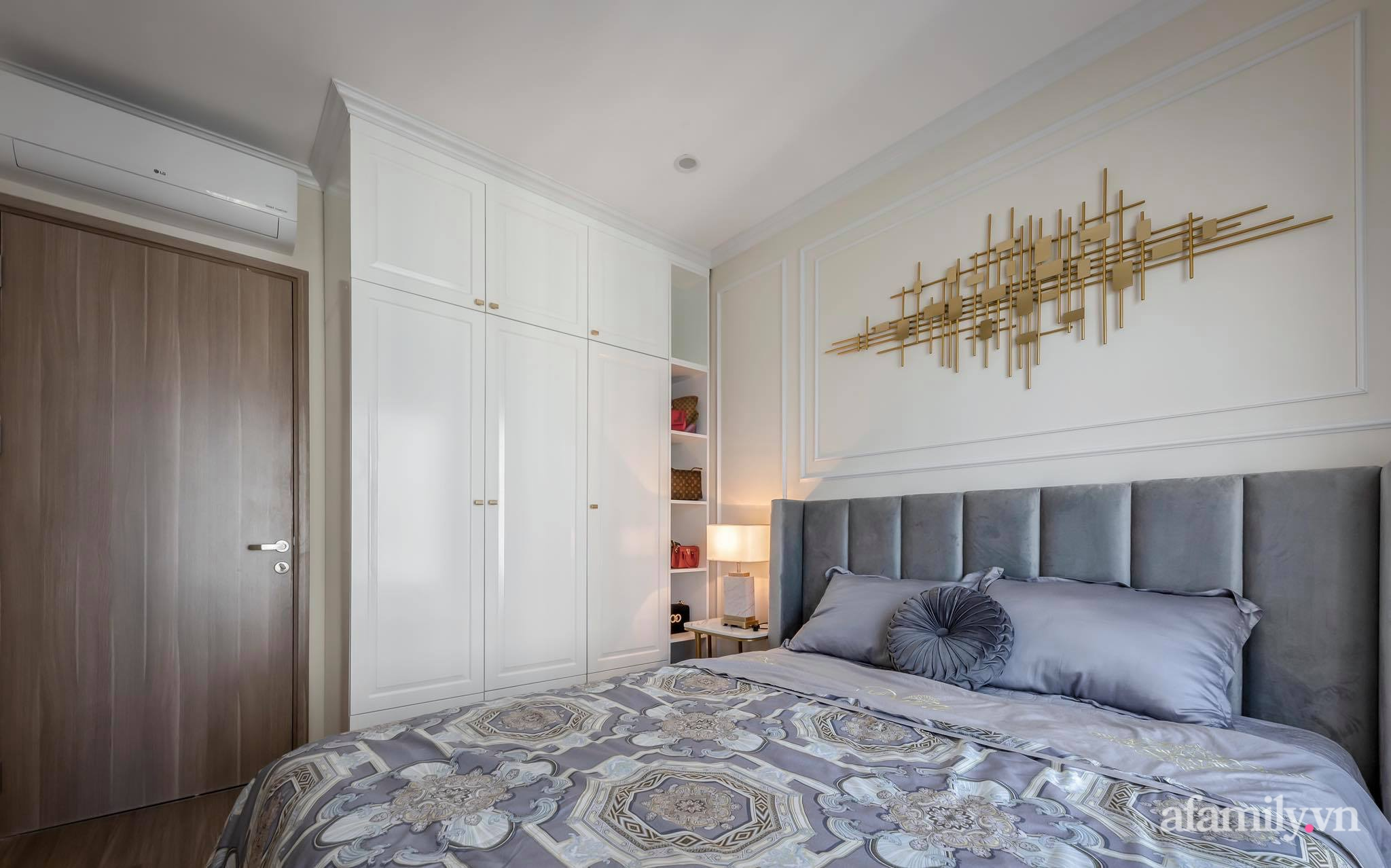 Căn hộ 55m² sang trọng đẳng cấp với phong cách Tân cổ điển có chi phí hoàn thiện nội thất 200 triệu đồng ở Sài Gòn - Ảnh 17.