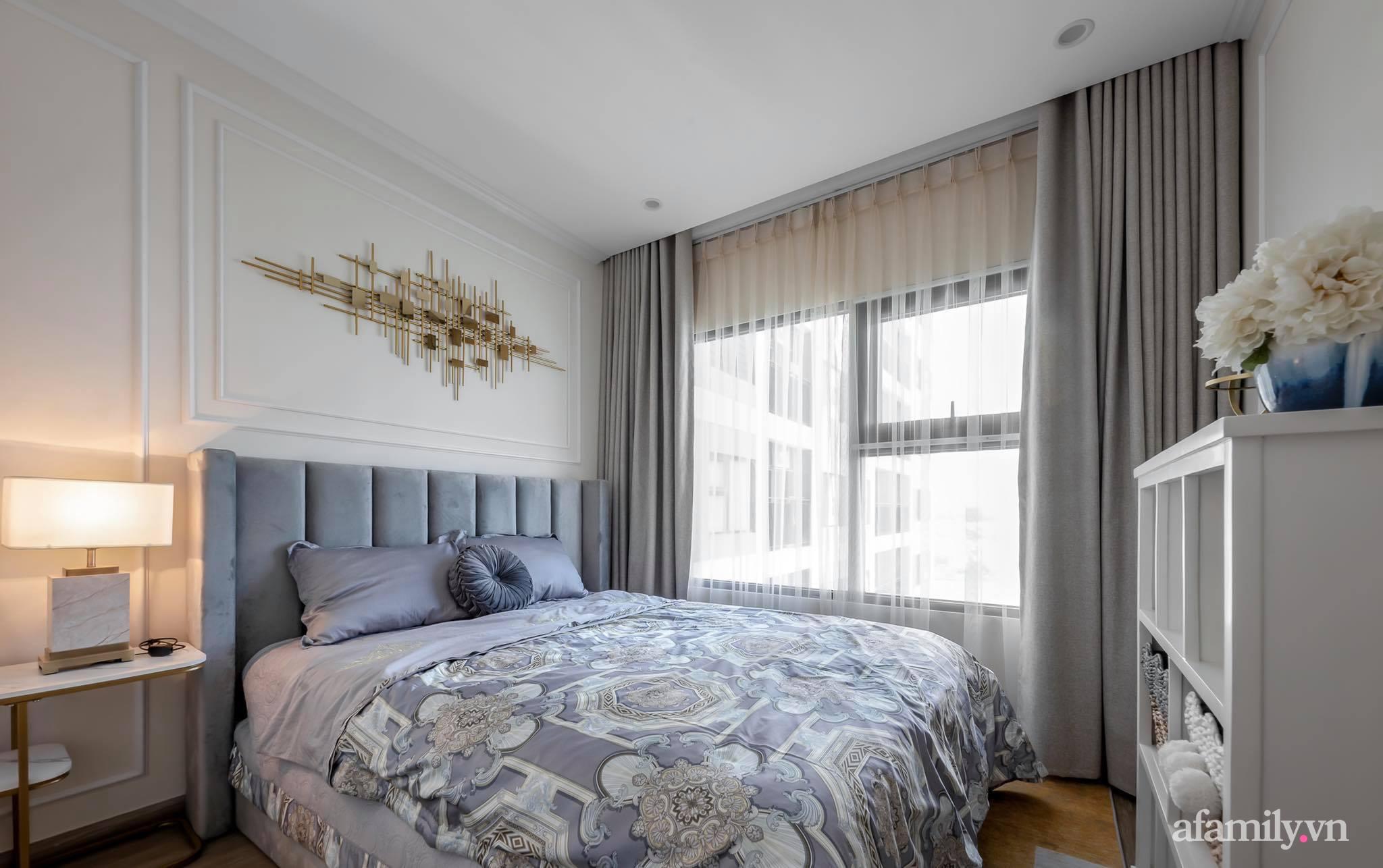 Căn hộ 55m² sang trọng đẳng cấp với phong cách Tân cổ điển có chi phí hoàn thiện nội thất 200 triệu đồng ở Sài Gòn - Ảnh 16.