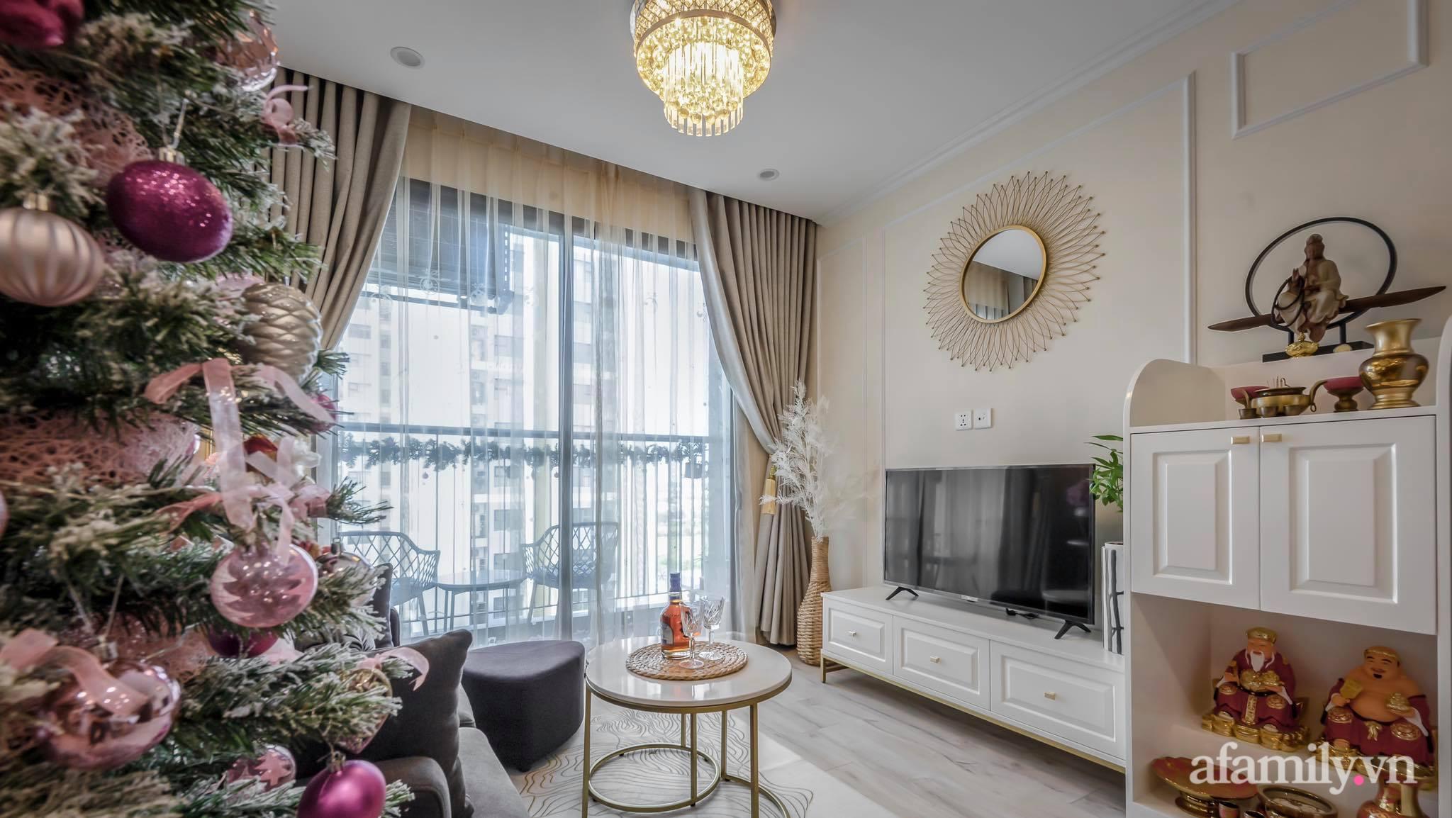 Căn hộ 55m² sang trọng đẳng cấp với phong cách Tân cổ điển có chi phí hoàn thiện nội thất 200 triệu đồng ở Sài Gòn - Ảnh 2.