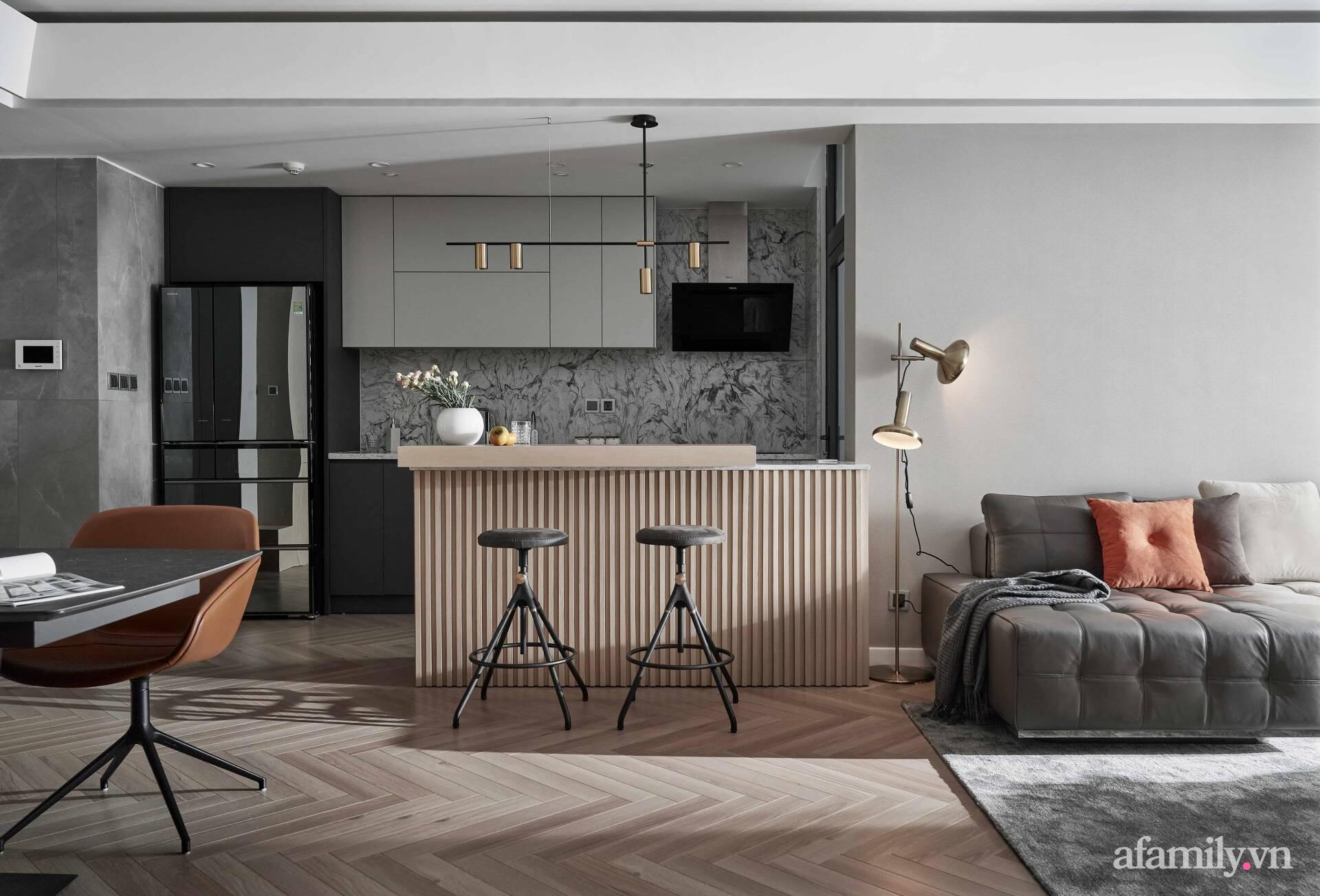 Căn hộ 100m² đẹp sang trọng với lựa chọn nội thất cao cấp ở Hà Nội - Ảnh 1.