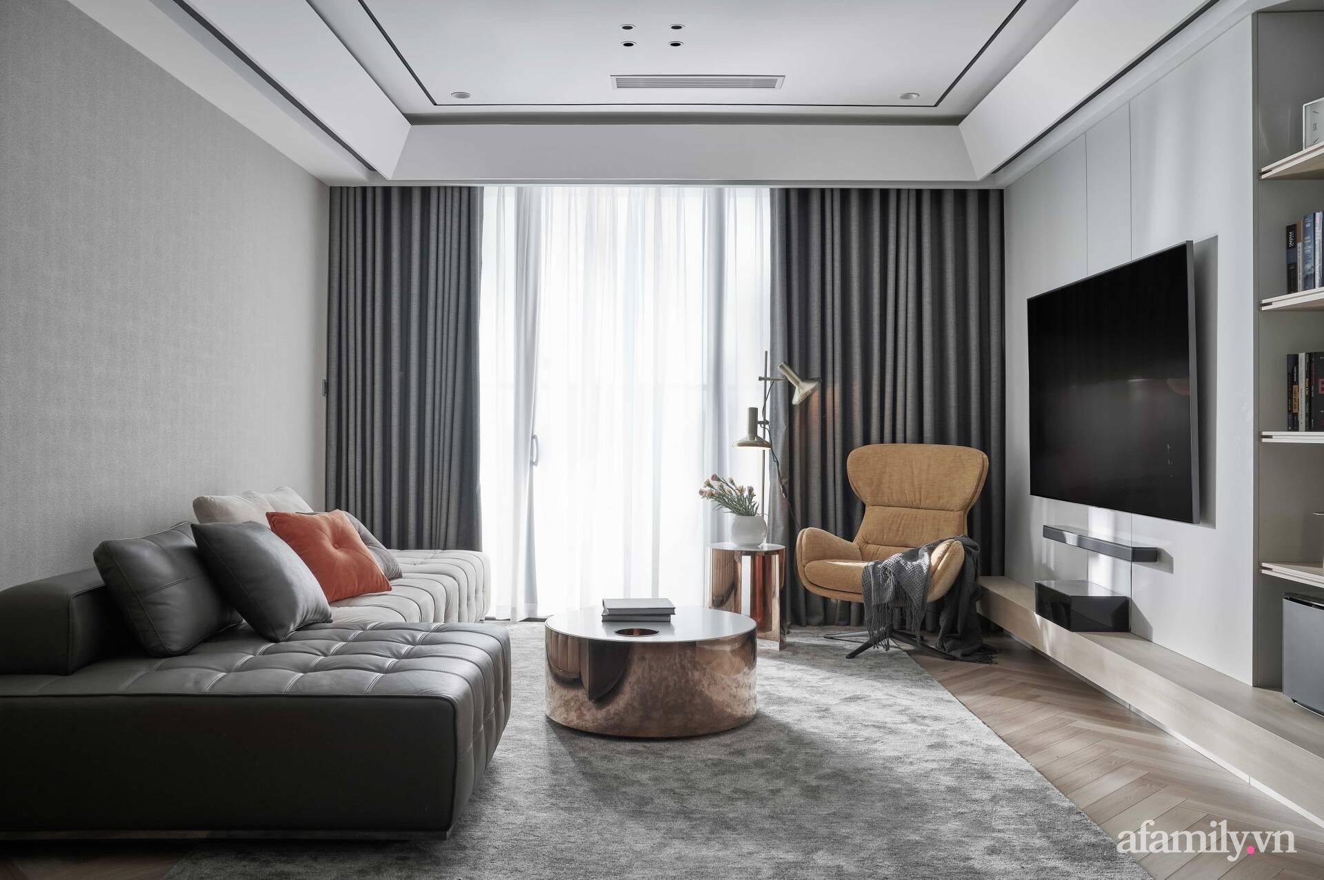 Căn hộ 100m² đẹp sang trọng với lựa chọn nội thất cao cấp ở Hà Nội - Ảnh 2.