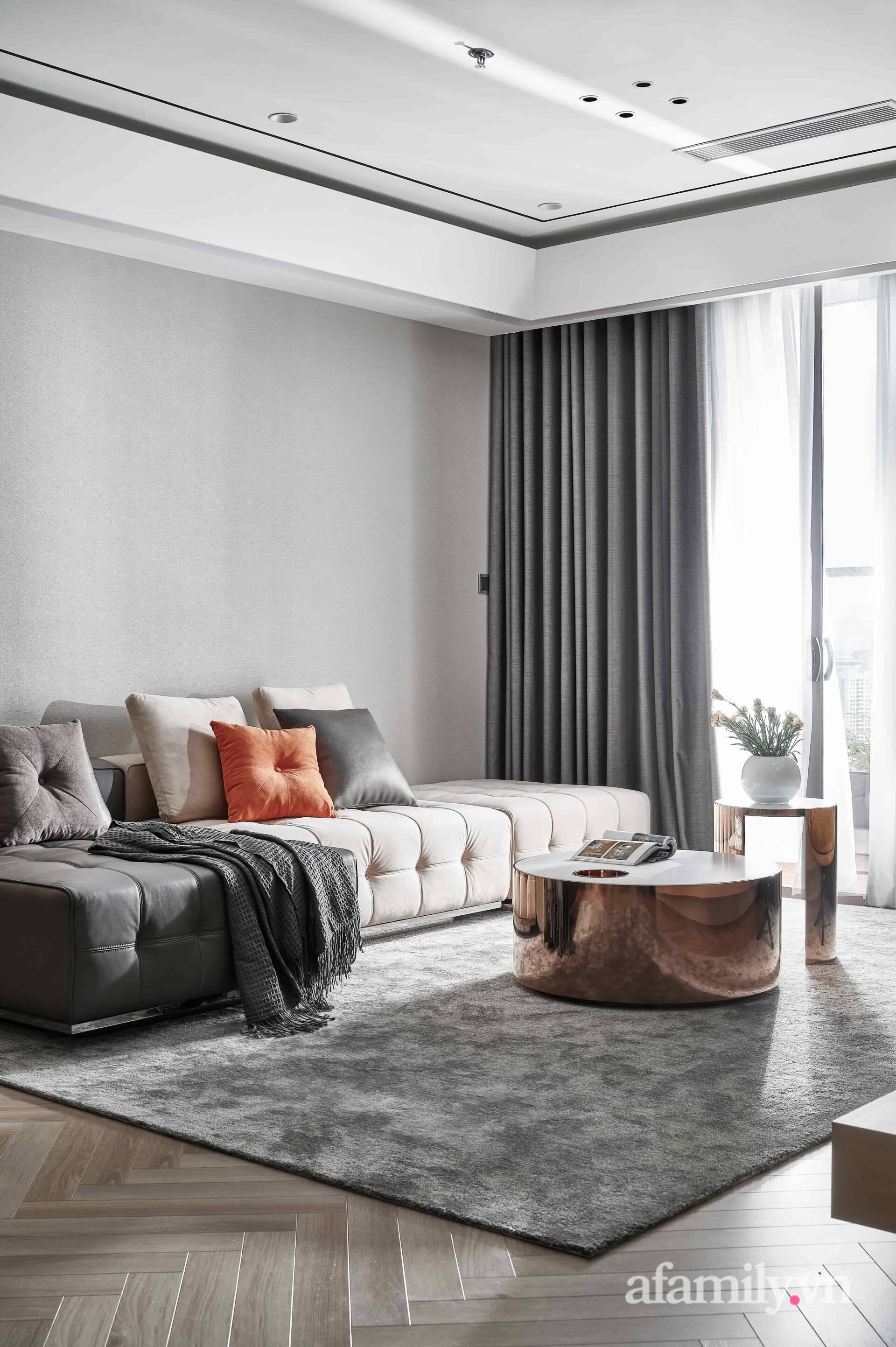 Căn hộ 100m² đẹp sang trọng với lựa chọn nội thất cao cấp ở Hà Nội - Ảnh 4.