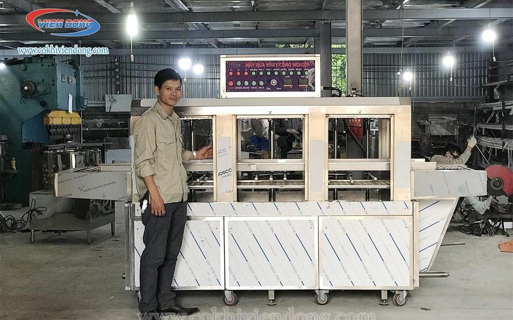 Máy rửa bát công nghiệp - giải pháp vệ sinh an toàn, tiết kiệm nhân công cho các doanh nghiệp