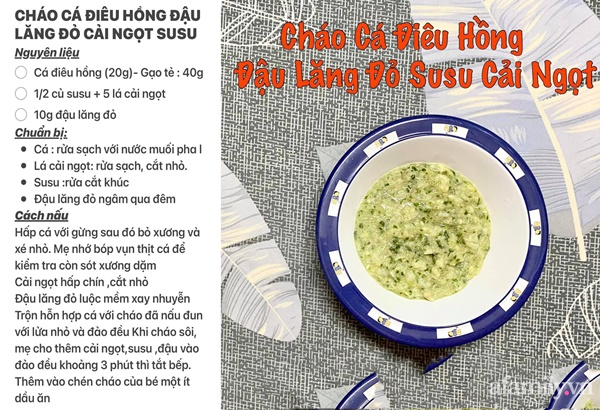 """Mẹ Sài Gòn khoe thực đơn hàng chục món cháo bổ dưỡng, """"thổi bay"""" cảm giác biếng ăn ở con - Ảnh 20."""