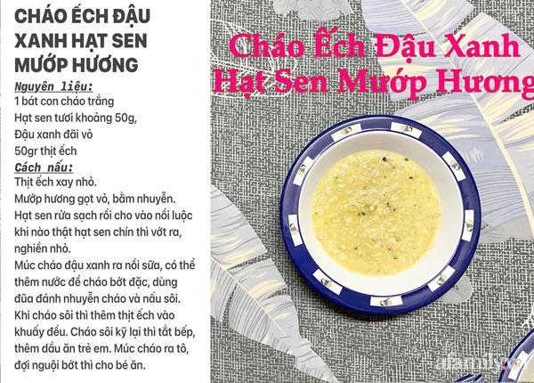 """Mẹ Sài Gòn khoe thực đơn hàng chục món cháo bổ dưỡng, """"thổi bay"""" cảm giác biếng ăn ở con - Ảnh 18."""