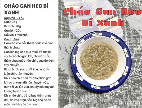 """Mẹ Sài Gòn khoe thực đơn hàng chục món cháo bổ dưỡng, """"thổi bay"""" cảm giác biếng ăn ở con - Ảnh 16."""