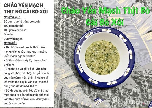"""Mẹ Sài Gòn khoe thực đơn hàng chục món cháo bổ dưỡng, """"thổi bay"""" cảm giác biếng ăn ở con - Ảnh 15."""