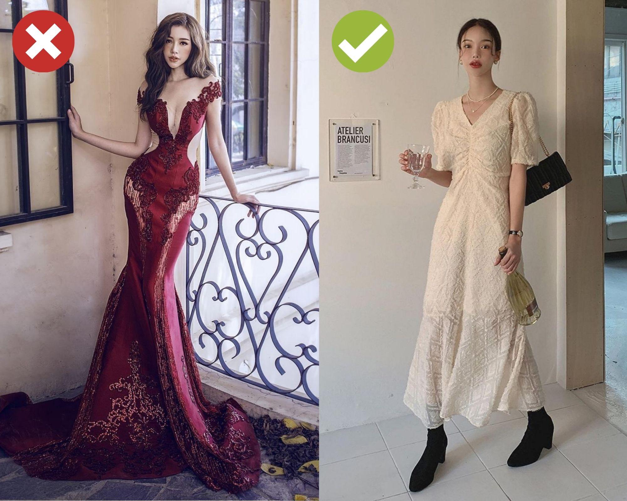 Trót dại diện 4 kiểu trang phục sau đi tiệc Tất niên cuối năm của công ty, thế nào chị em cũng bị chê là thiếu ý tứ  - Ảnh 2.