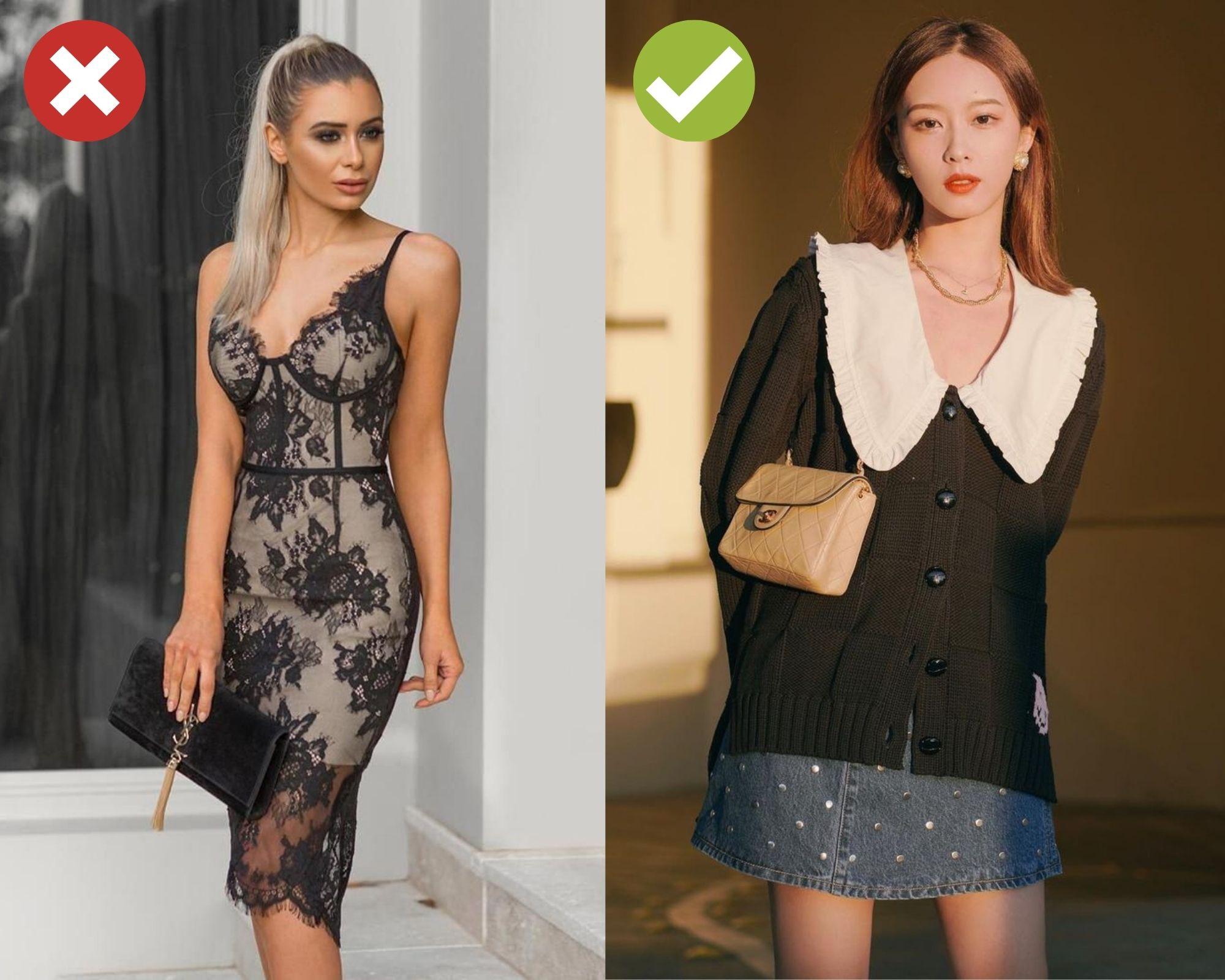 Trót dại diện 4 kiểu trang phục sau đi tiệc Tất niên cuối năm của công ty, thế nào chị em cũng bị chê là thiếu ý tứ  - Ảnh 4.