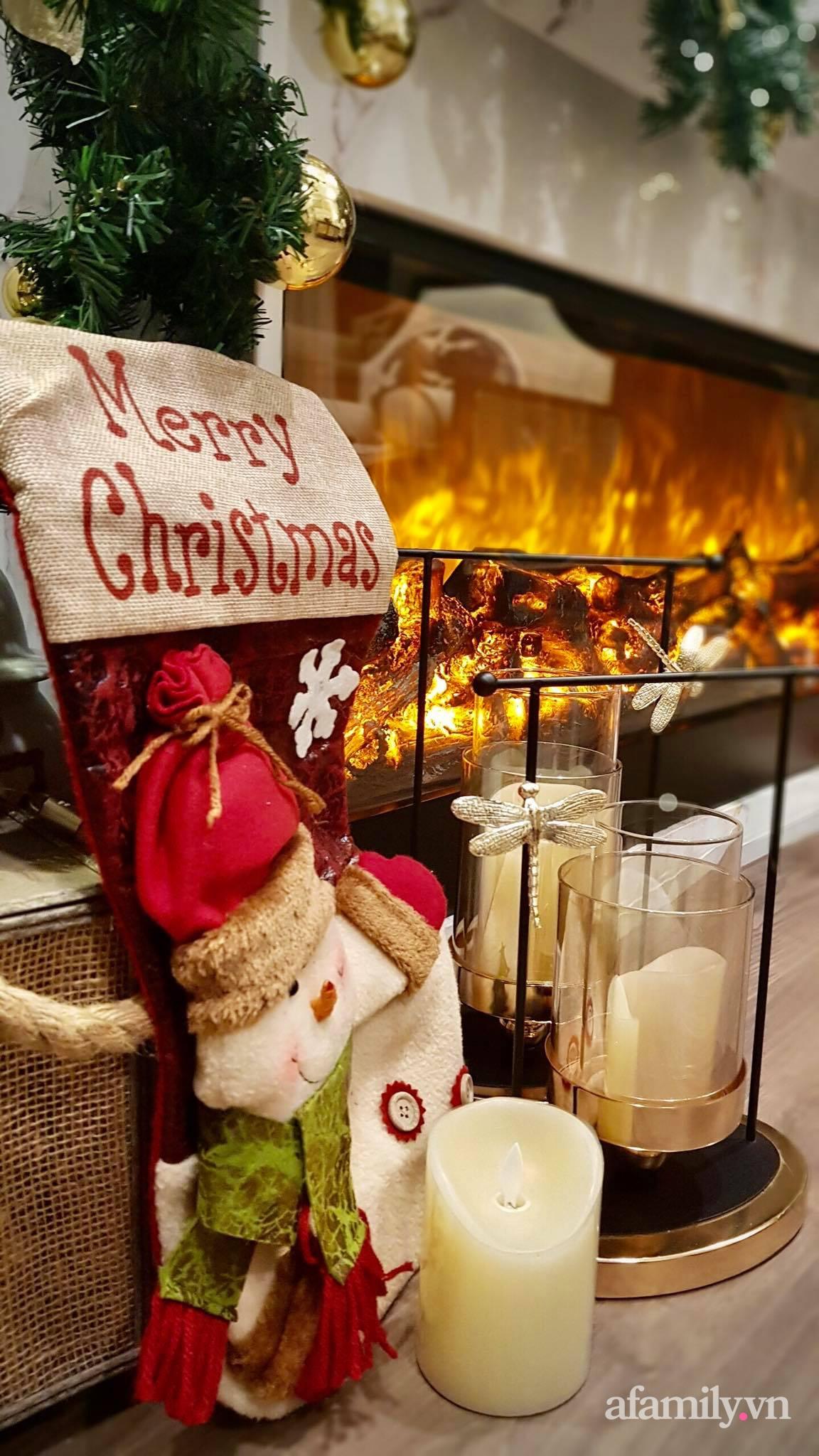 """Căn hộ """"thắp sáng"""" những sắc màu giúp từng góc nhỏ thêm ấm cúng đón Giáng sinh ở Hà Nội - Ảnh 11."""