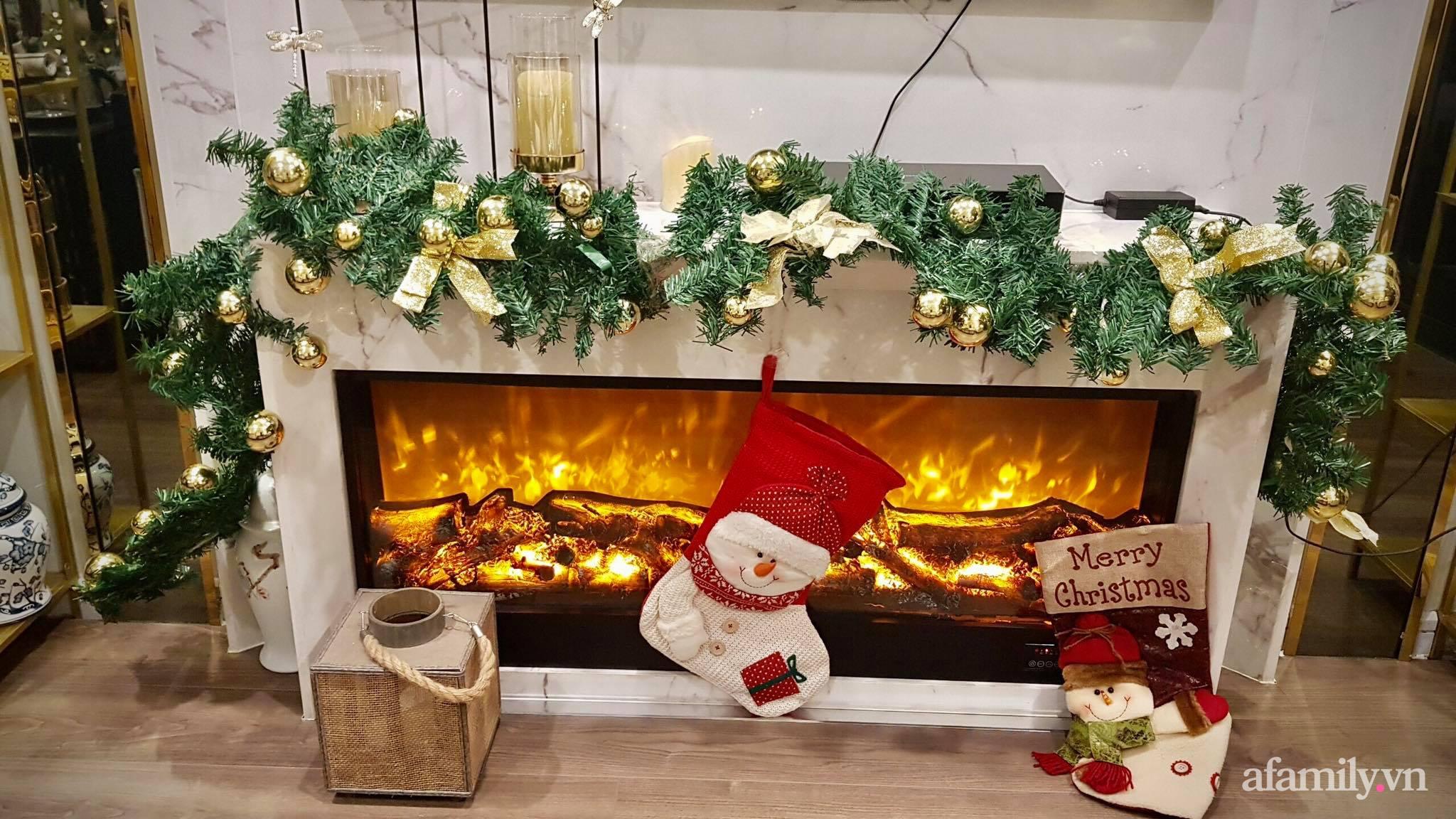 """Căn hộ """"thắp sáng"""" những sắc màu giúp từng góc nhỏ thêm ấm cúng đón Giáng sinh ở Hà Nội - Ảnh 3."""