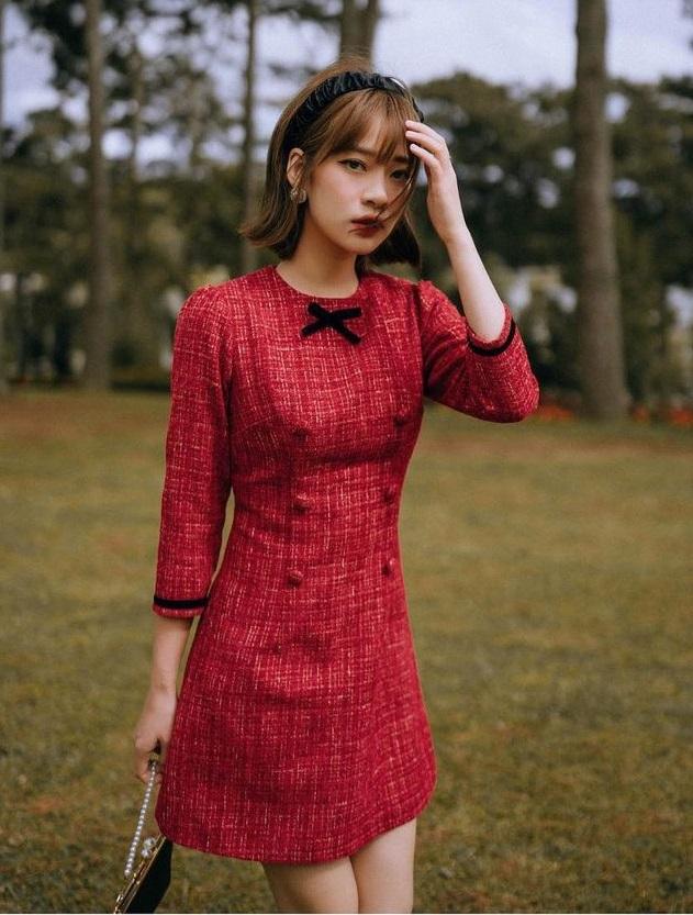 10 mẫu váy vừa điệu vừa sang cho nàng công sở, diện mùa lễ hội cuối năm là chiếm trọn spotlight - Ảnh 9.