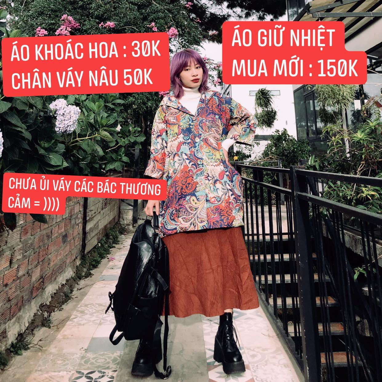 """Sắm đồ Secondhand chỉ từ 30k, cô nàng lên được cả loạt outfit """"chất phát hờn"""" khiến các chị em tới tấp hỏi địa chỉ - Ảnh 4."""