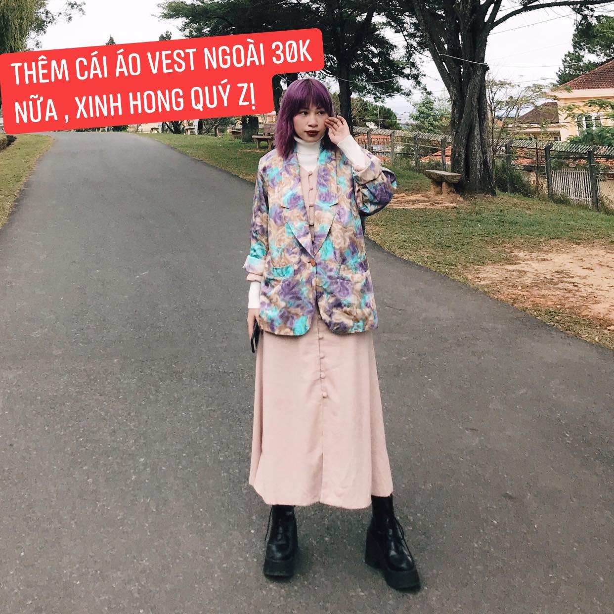 """Sắm đồ Secondhand chỉ từ 30k, cô nàng lên được cả loạt outfit """"chất phát hờn"""" khiến các chị em tới tấp hỏi địa chỉ - Ảnh 3."""