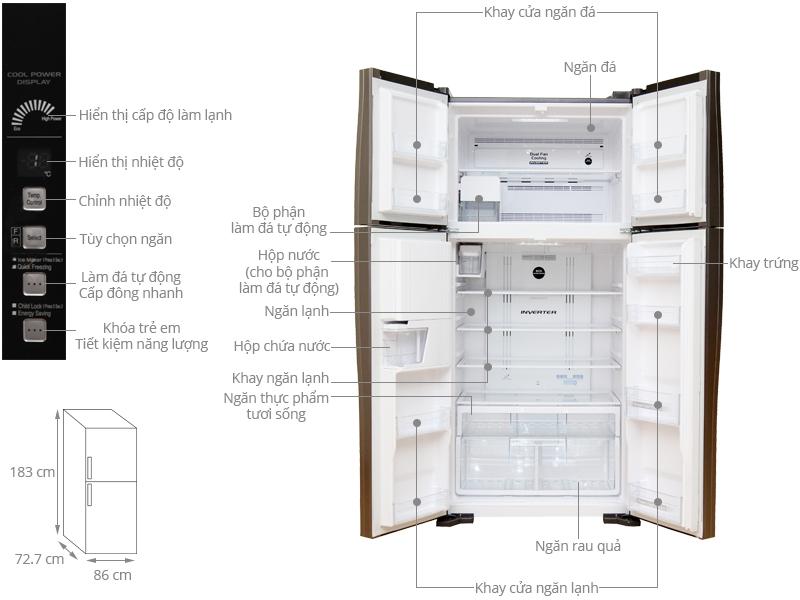 6 chiếc tủ lạnh được bình chọn nhiều nhất năm 2020: Đều sở hữu công nghệ Inverter tiết kiệm điện, phù hợp từ người độc thân tới các gia đình - Ảnh 6.
