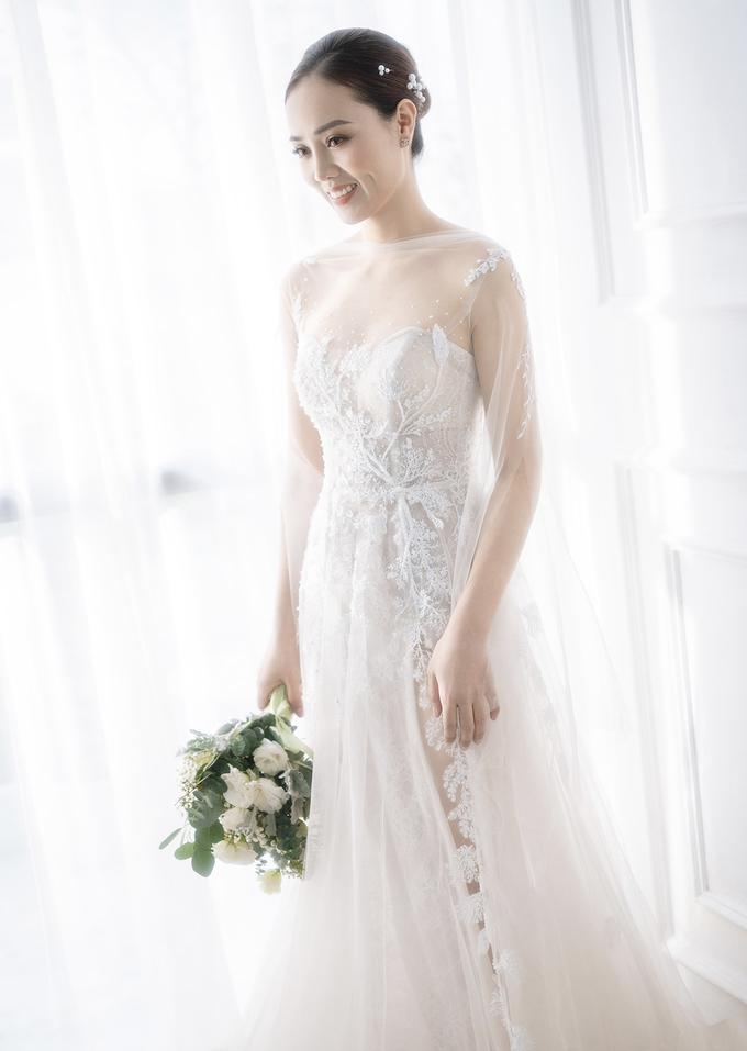 2/3 số váy cưới của vợ Công Lý là thiết kế riêng, hé lộ mẫu váy sẽ mặc trong ngày trọng đại - Ảnh 3.