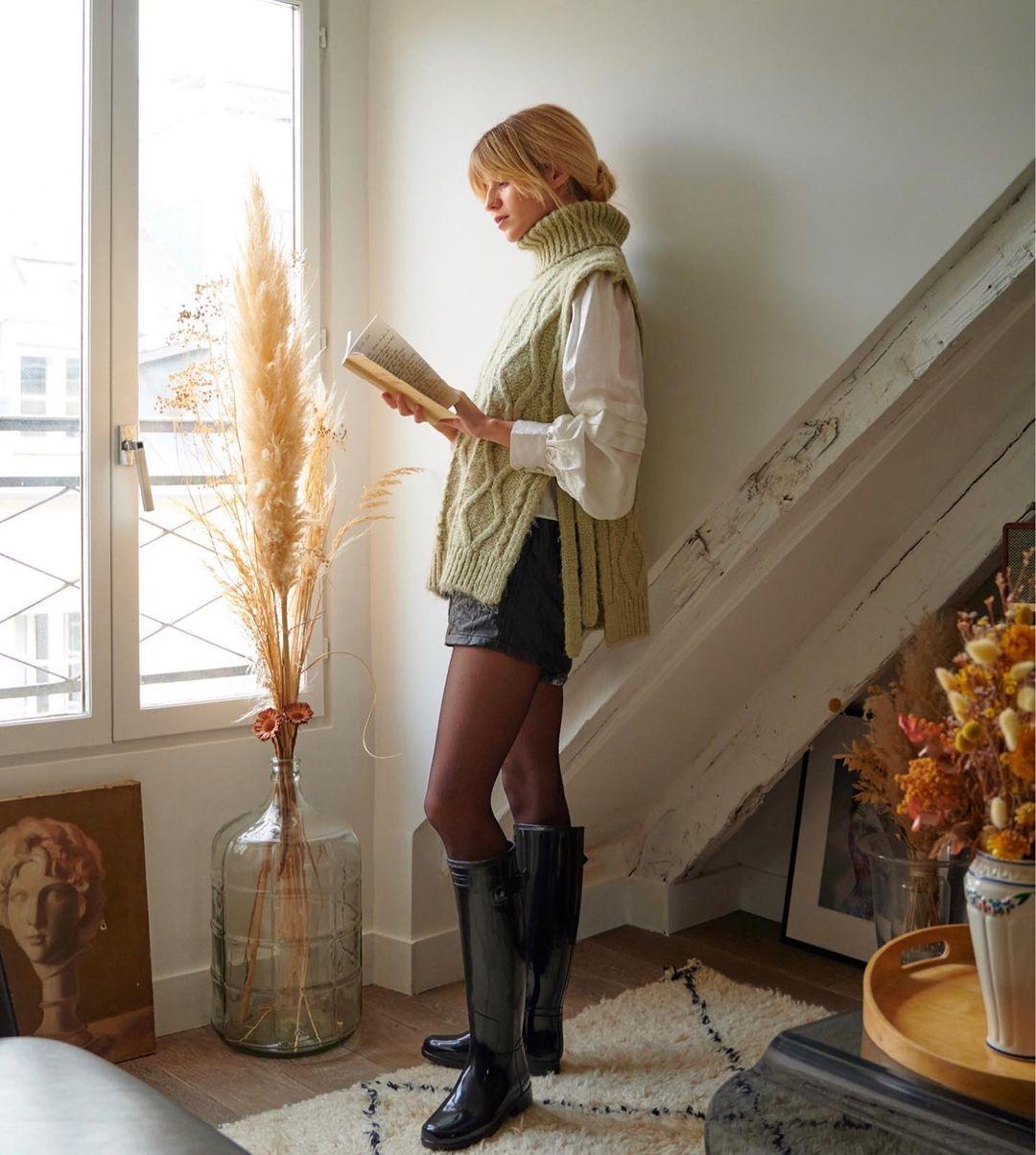 Mix & Phối - Gái Pháp thích diện nhất 4 mẫu áo len sau, học theo thì bạn sẽ mặc đẹp và sang tròn 100 điểm - chanvaydep.net 4