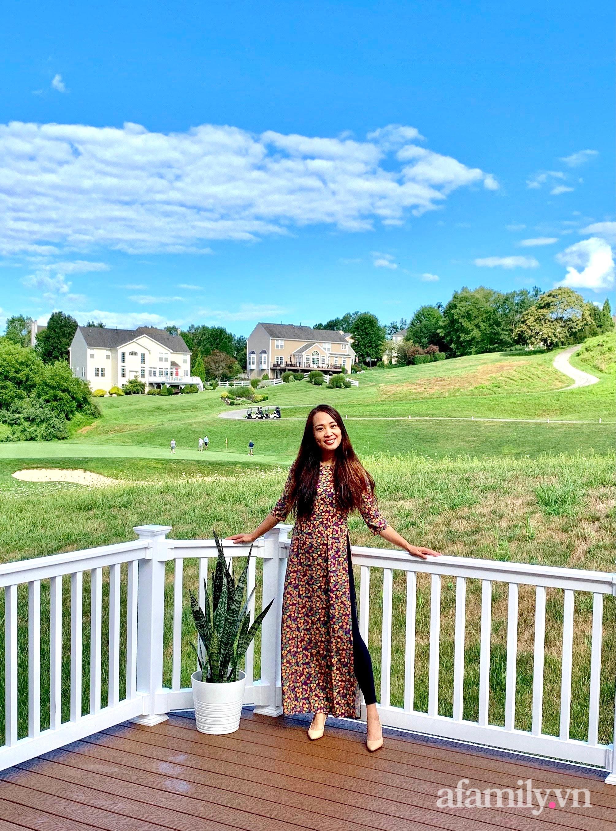 Căn nhà mơ ước với nội thất sang trọng cùng tầm nhìn hướng ra cánh đồng xanh tươi trong lành của mẹ Việt ở Mỹ - Ảnh 4.