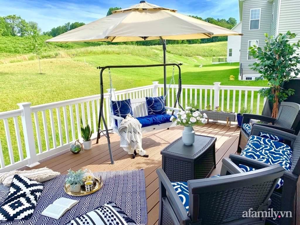 Căn nhà mơ ước với nội thất sang trọng cùng tầm nhìn hướng ra cánh đồng xanh tươi trong lành của mẹ Việt ở Mỹ - Ảnh 6.