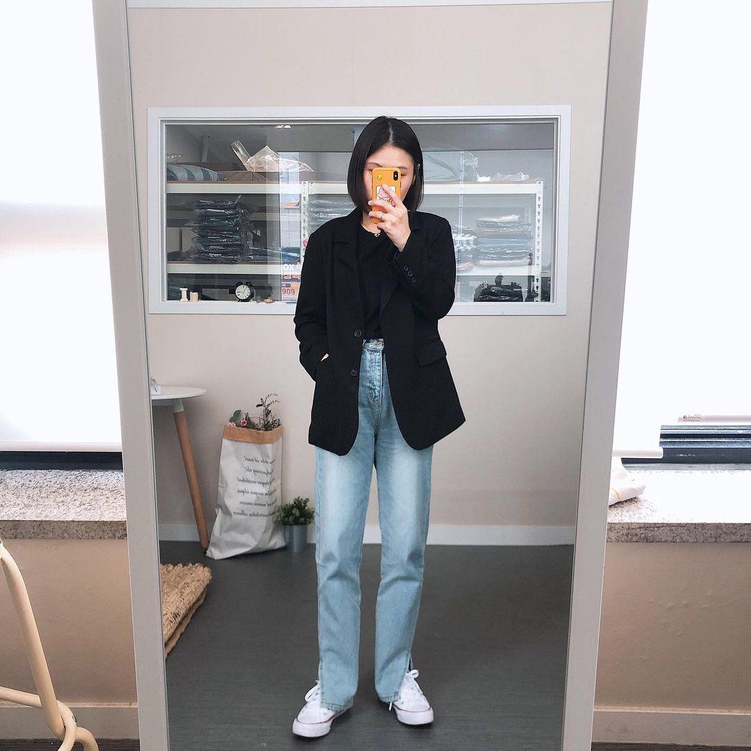 Cuối năm đi mua quần jeans, chị em cần 4 mẹo sau để tìm được item tôn dáng, giá rẻ mà mặc sang như đồ đắt tiền - Ảnh 7.