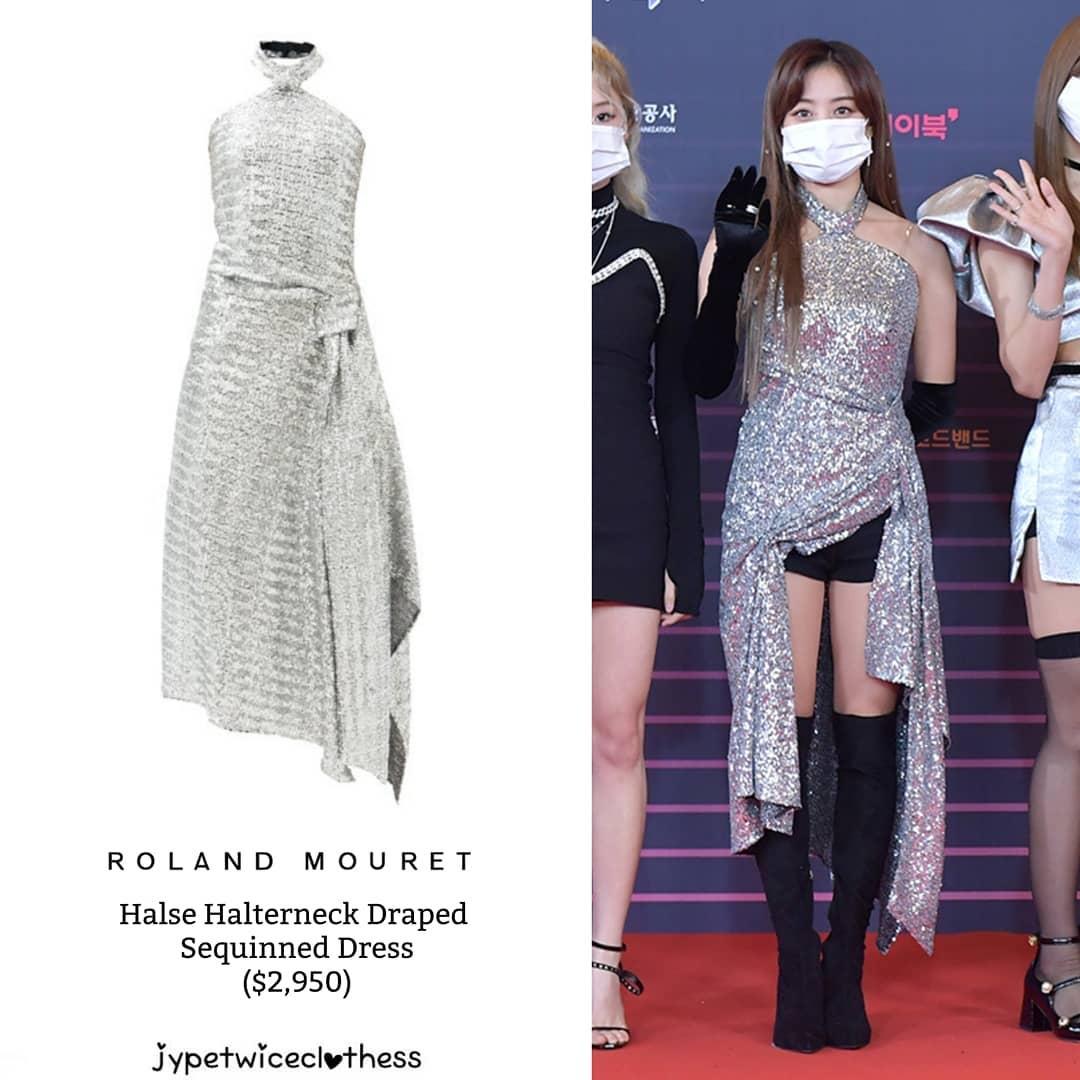 """Đỉnh cao """"phá đồ hiệu"""" nào bằng stylist của Twice: Cắt váy hiệu thành váy chợ, biến Tzuyu thành trò hề trên sân khấu - Ảnh 5."""