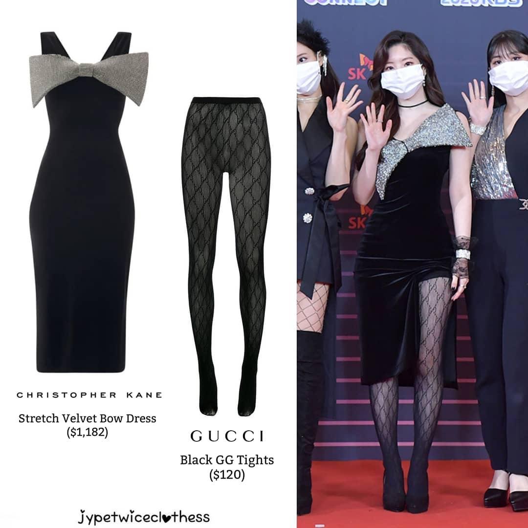 """Đỉnh cao """"phá đồ hiệu"""" nào bằng stylist của Twice: Cắt váy hiệu thành váy chợ, biến Tzuyu thành trò hề trên sân khấu - Ảnh 1."""
