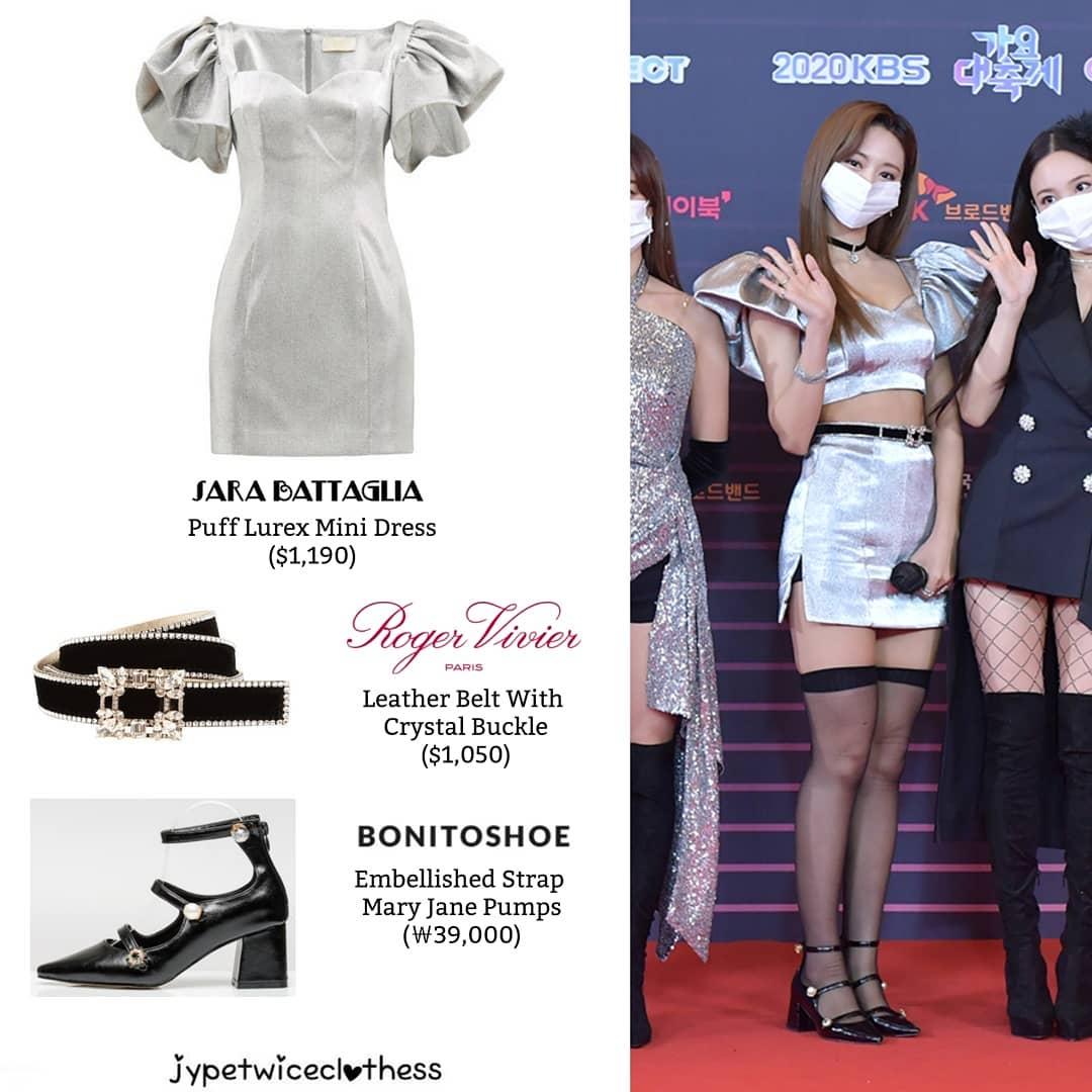 """Đỉnh cao """"phá đồ hiệu"""" nào bằng stylist của Twice: Cắt váy hiệu thành váy chợ, biến Tzuyu thành trò hề trên sân khấu - Ảnh 3."""