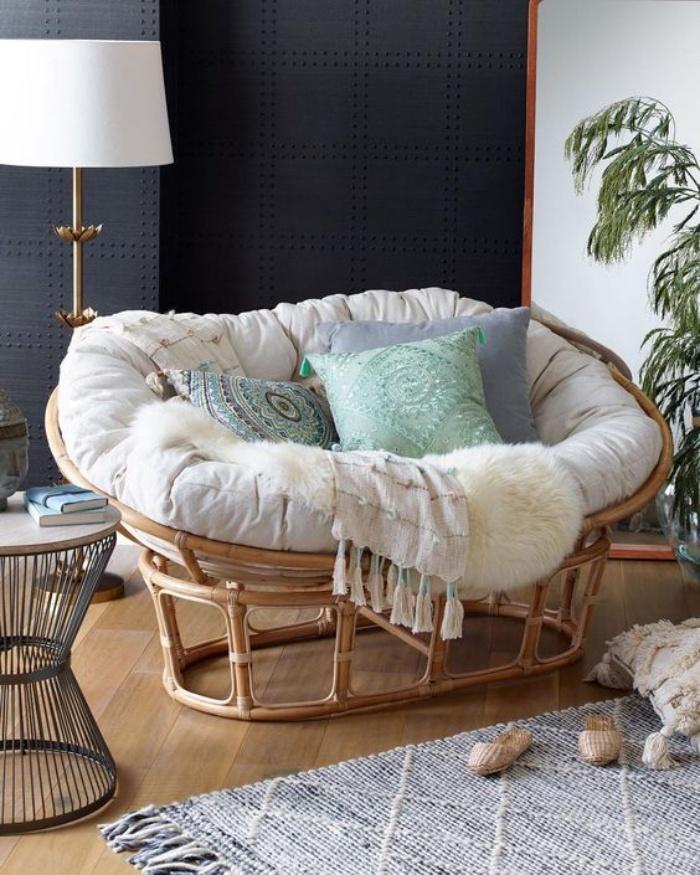 Tạo không gian thư giãn đẹp như tranh vẽ với ghế Papasan - Ảnh 13.