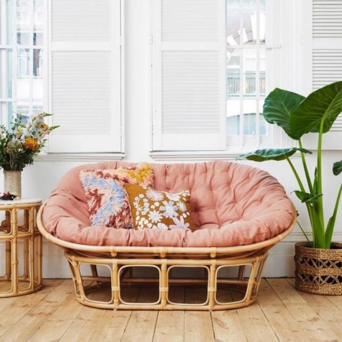 Tạo không gian thư giãn đẹp như tranh vẽ với ghế Papasan - Ảnh 14.