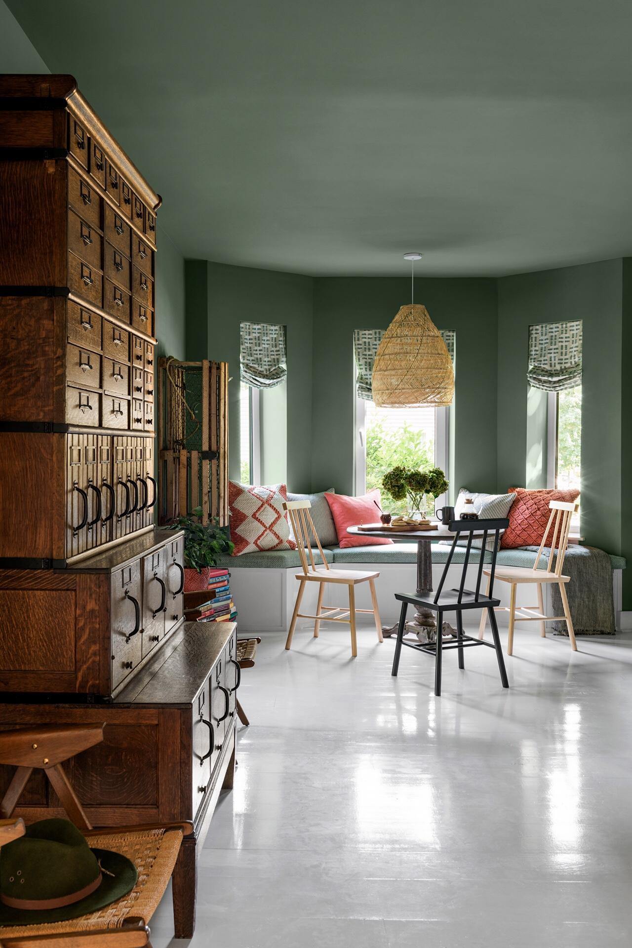 Căn nhà cấp 4 với nội thất dung dị nên thơ giữa khung cảnh xanh mát của vườn cây yên bình xung quanh - Ảnh 10.