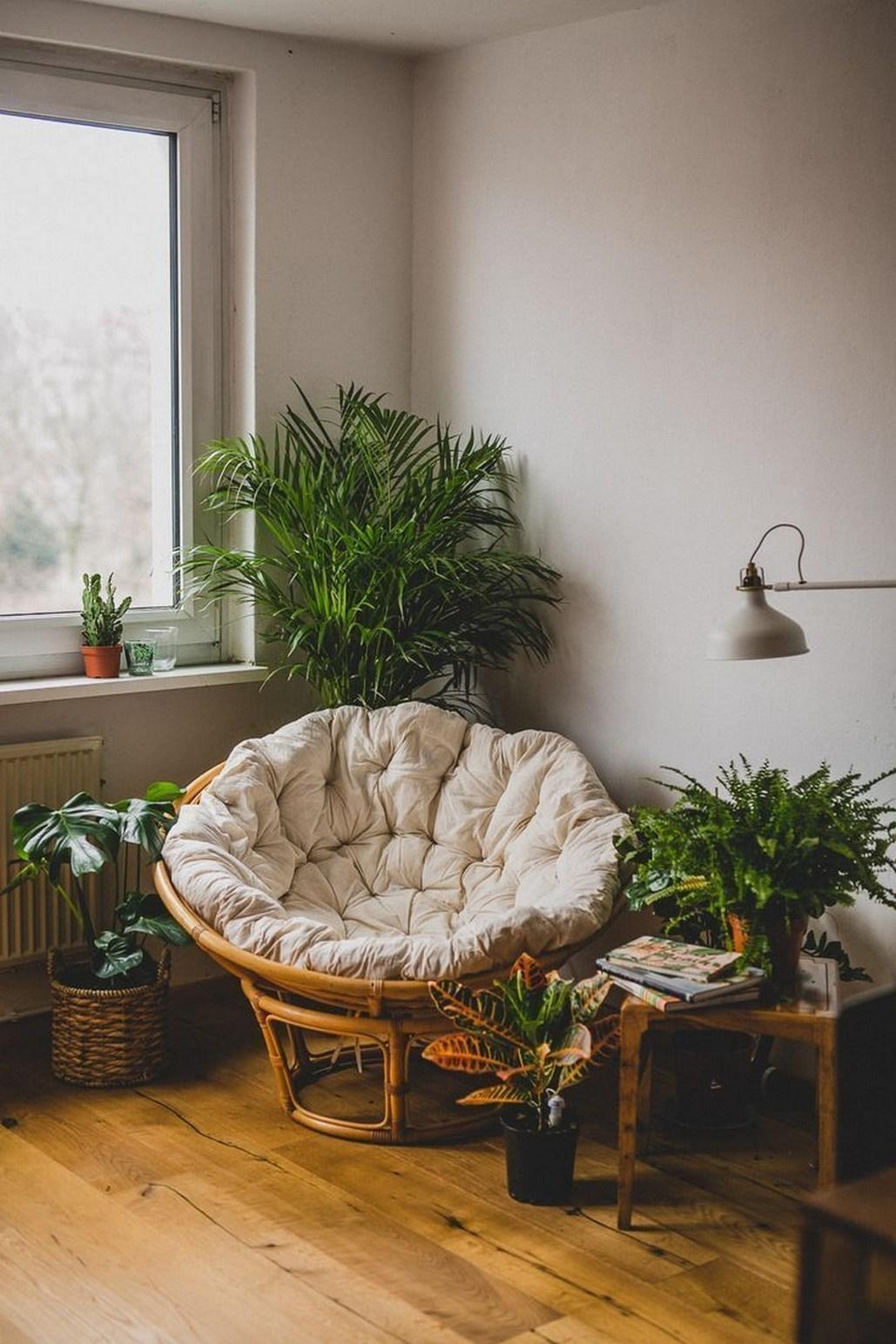 Tạo không gian thư giãn đẹp như tranh vẽ với ghế Papasan - Ảnh 4.
