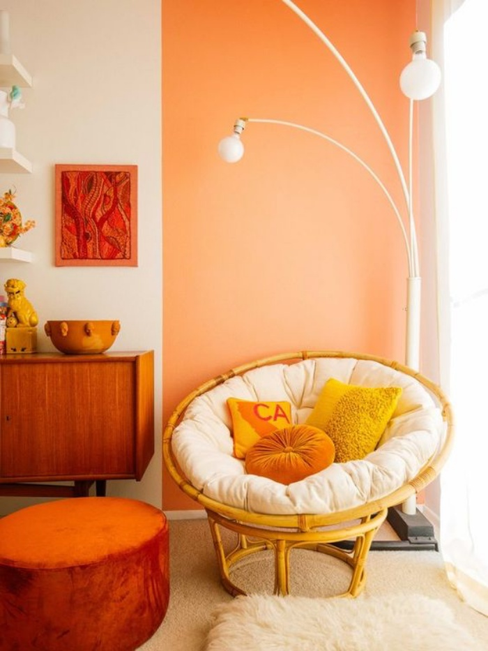 Tạo không gian thư giãn đẹp như tranh vẽ với ghế Papasan - Ảnh 7.